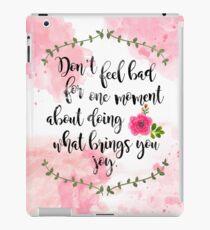Vinilo o funda para iPad Un tribunal de espinas y rosas: no te sientas mal