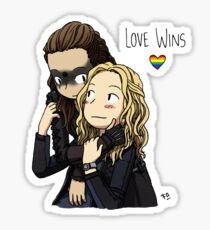 Clexa Love Wins Sticker