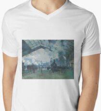 Claude Monet - Arrival of the Normandy Train  Gare Saint-Lazare  T-Shirt