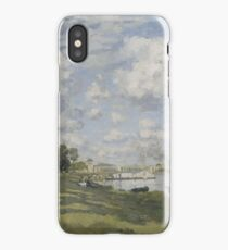 Claude Monet - Bassin d'Argenteuil (circa 1872) iPhone Case
