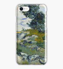 Vincent Van Gogh - The Rocks, 1888 iPhone Case/Skin