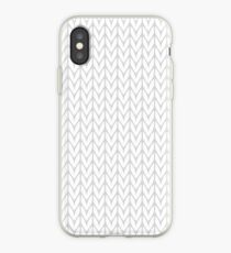 Chevrons Knit Style iPhone Case