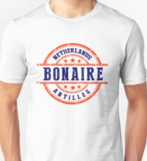 Bonaire, The Netherlands Antilles Unisex T-Shirt
