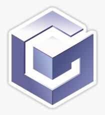 Gamecube Logo Sticker