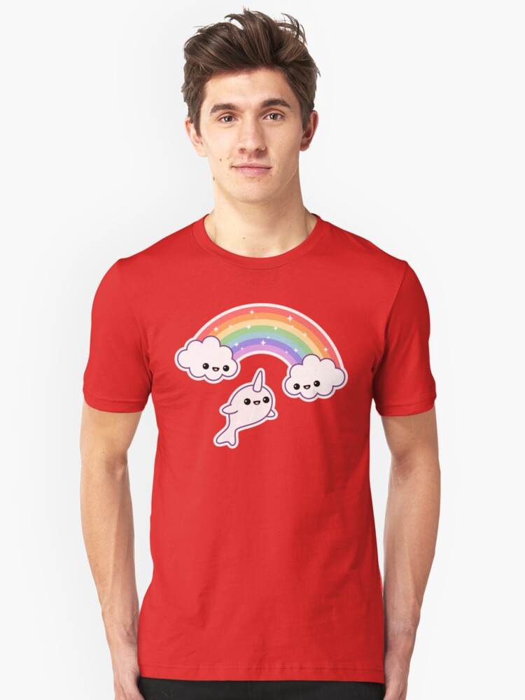 Flying Narwhal Unisex T-Shirt Front