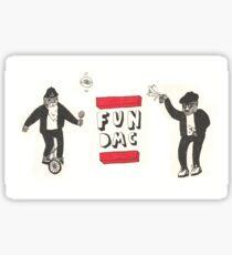 FUN DMC Sticker