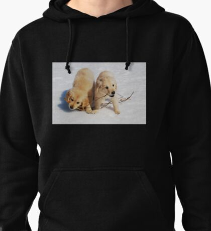 Puppies in Winter T-Shirt
