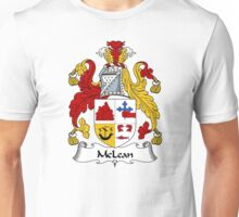 McLean Coat of Arms / McLean Family Crest Unisex T-Shirt