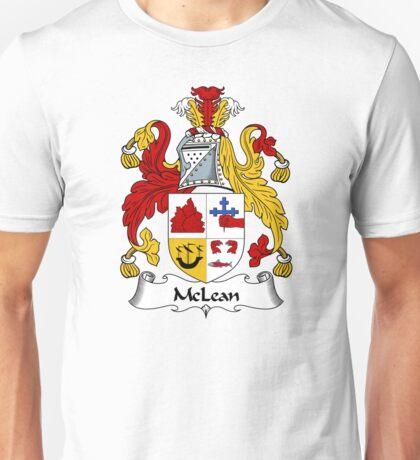 McLean Coat of Arms / McLean Family Crest Unisex T-Shirt