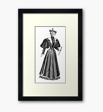 Cat Person (female) Framed Print