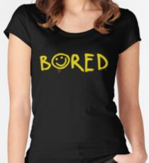 Sherlock - Bored! Women's Fitted Scoop T-Shirt