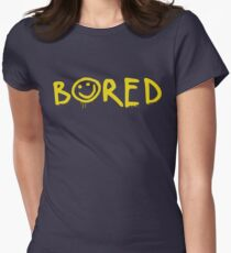 Sherlock - Bored! Womens Fitted T-Shirt