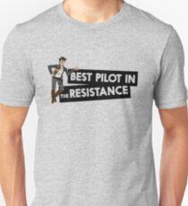 Best Pilot in the Galaxy T-Shirt