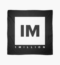 1 MILLION Dance Studio Logo (White Version) Scarf