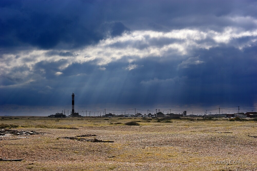 Dungeness Through a Prime Lens 05 by Andy Coleman