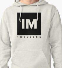 Sudadera con capucha 1 MILLÓN de logotipo de Dance Studio (versión negra)