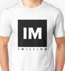 1 MILLION Dance Studio Logo (Black Version) T-Shirt