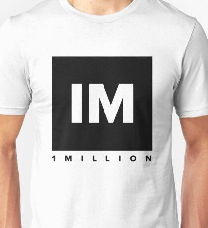 1 MILLION Dance Studio Logo (Black Version) Unisex T-Shirt