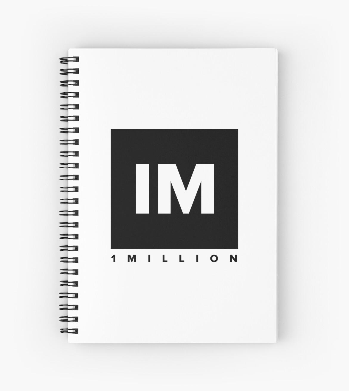 1 Million Dance Studio Logo (schwarze Version) von gdragon88
