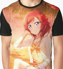 Love Live! School Idol Project - Summer Vacation Graphic T-Shirt