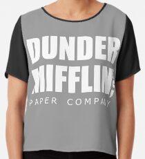 Dunder Mifflin Chiffon Top