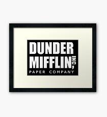 Dunder Mifflin Framed Print