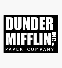 Dunder Mifflin Photographic Print