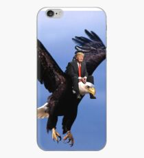 Trump Riding Eagle iPhone Case