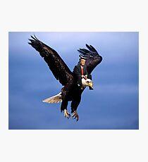 Trump Riding Eagle Photographic Print
