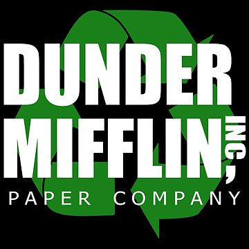 Dunder Mifflin Recycle by royalbandit
