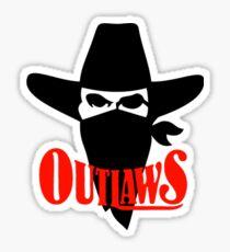 Oklahoma Outlaws - USFL Sticker
