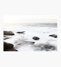 Long Exposure at Bondi Rocks 2 Photographic Print