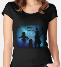 Time Traveler Women's Fitted Scoop T-Shirt