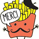 French Fries by DetourShirts