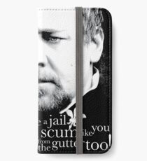 Javert from the gutter iPhone Wallet/Case/Skin
