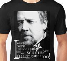 Javert from the gutter Unisex T-Shirt