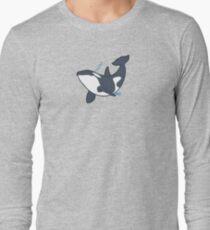 Happy orca Long Sleeve T-Shirt