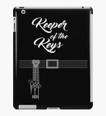 Keeper of the Keys: With Words iPad Case/Skin