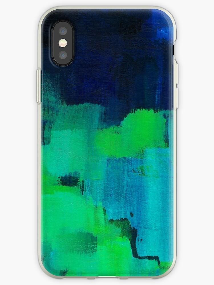 Blaue und grüne Zusammenfassung von SaryandSaff