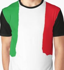 Flag of Italy Graphic T-Shirt