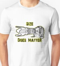 Size Does Matter Unisex T-Shirt