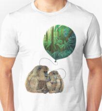 Balloon Monkey dream Unisex T-Shirt