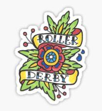 Roller Derby Bouquet Sticker