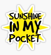 Sunshine in my Pocket Sticker