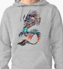 Dragon Picture Fill Pullover Hoodie