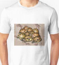 Greek Tortoise Group - Desert Camo Background T-Shirt