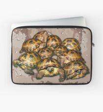 Greek Tortoise Group - Desert Camo Background Laptop Sleeve