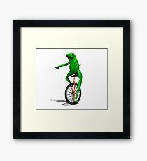 Dat Boi Framed Print