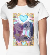 Princess Cadence & Shining Armor Women's Fitted T-Shirt