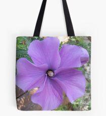 Native hibiscus alyogyne huegeli Tote Bag